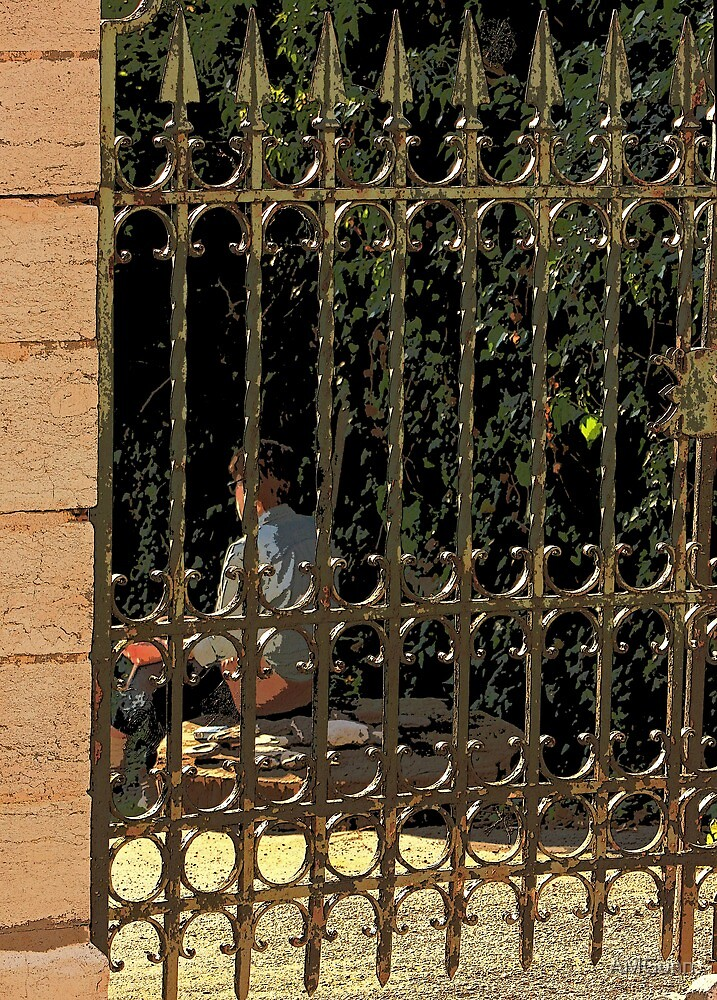 Caged Smoker by AMGunn