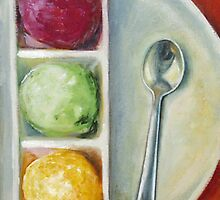 """Served Ice Cream"" by Tatiana Roulin"