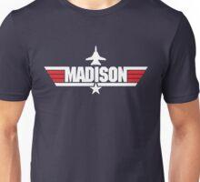 Custom Top Gun Style - Madison Unisex T-Shirt