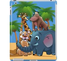 Jungle animals iPad Case/Skin