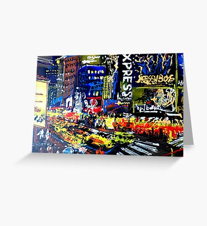 New York's Times Square 1 Greeting Card