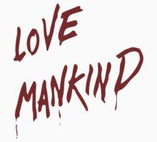 Love Mankind Kids Tee