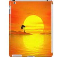 Holiday on the sunny island iPad Case/Skin