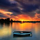 Floating Sunset # 2 by Arfan Habib