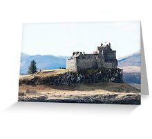 Duart Castle, Isle of Mull Greeting Card