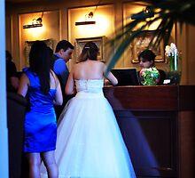 Checking in as Mr & Mrs by Karen E Camilleri