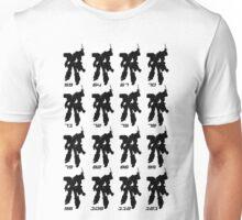 Tramsformer Routes & Robots 59 - 121 Unisex T-Shirt
