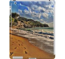 Footprints in the Sand iPad Case/Skin