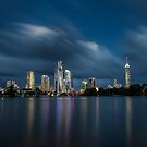 Surfers Paradise Twilight by D Byrne