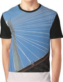 Veterans Memorial Bridge Graphic T-Shirt
