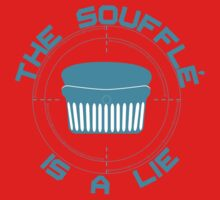 The Soufflé is a Lie One Piece - Long Sleeve