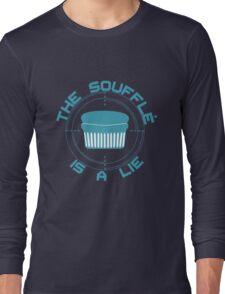 The Soufflé is a Lie Long Sleeve T-Shirt