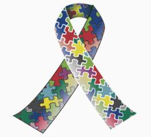 Autism Ribbon by BrightDesign