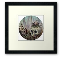 Little Forest Spirits  Framed Print