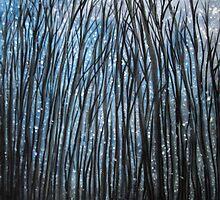 Winter woodland by Yorkspalette
