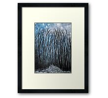 Winter woodland Framed Print