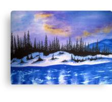 Canadian wilderness Canvas Print