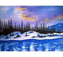 Canadian wilderness Photographic Print