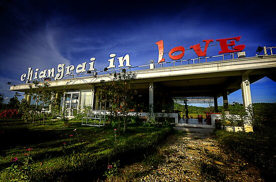 Chiang Rai in Love, Thailand by Duane Bigsby