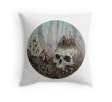 Little Forest Spirits  Throw Pillow