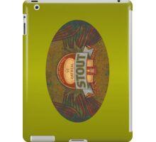 OATMEAL BEER LABEL iPad Case/Skin