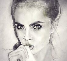 Cara Delevingne by EmilyLouiseLong