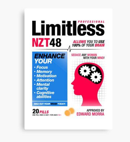 Limitless Pills - NZT 48 (2nd Version) Canvas Print