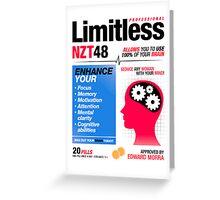 Limitless Pills - NZT 48 (2nd Version) Greeting Card