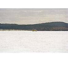 Holden Monaro on the salt at full throttle Photographic Print