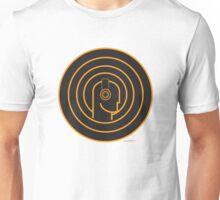 DJ Head Swirl Unisex T-Shirt
