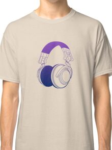 Vector Headphones Classic T-Shirt