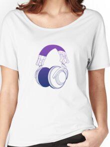 Vector Headphones Women's Relaxed Fit T-Shirt