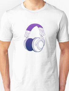 Vector Headphones T-Shirt