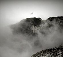 Christ on the hill by Kirsty Smith