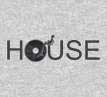 House Vinyl One Piece - Long Sleeve