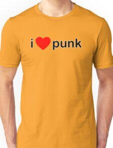 I Love Punk Unisex T-Shirt