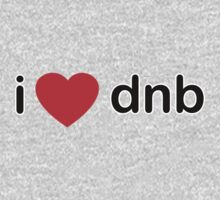 I Love DNB One Piece - Long Sleeve