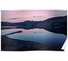 Ladybower Reservoir at Dusk Poster