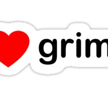 I Love Grime Sticker