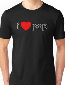 I Love Pop Unisex T-Shirt