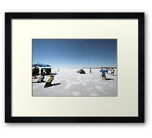 Ford Hot Rod on the salt 2 Framed Print