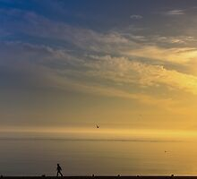 Sunset on the Bay by KeithBanse