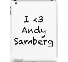 Andy Samberg T iPad Case/Skin