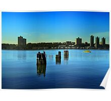 New York - Hudson River Poster