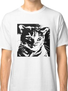 Cool Cat Graphic ~ Black  Classic T-Shirt