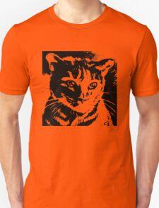 Cool Cat Graphic ~ Black  Unisex T-Shirt