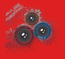 Jaw Dropping Beats - DJ Music Kids Tee