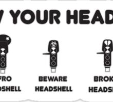 Know Your Headshells DJ Sticker