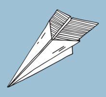 Old school paper plane Baby Tee