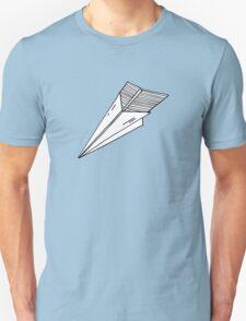 Old school paper plane Unisex T-Shirt